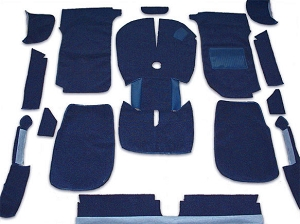 UK Blue Carpet Kit - Right Side Drive