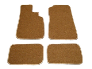 Tan Floor Mat Set