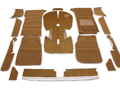 UK Tan Carpet Set - Right Side Drive