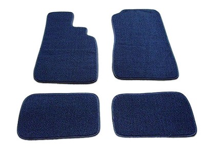 Blue Floor Mat Set